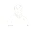 Pencil Sketch of Spock (Star Trek fan art)