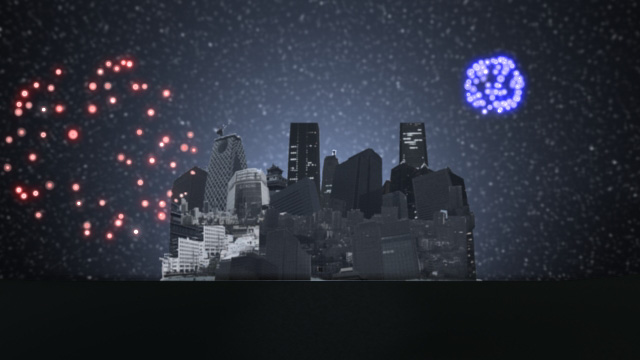 George and the Steam Dragon Screenshot 4 - Fireworks over Neo-Silene