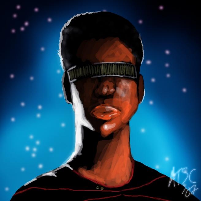Geordi La Forge - digital painting