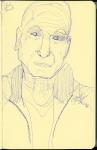 Patrick Stewart - blue ink