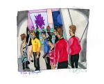 A Taste of Armageddon - Kirk, Spock, Landing Party outside control room