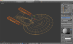 3d Enterprise-D in-progress